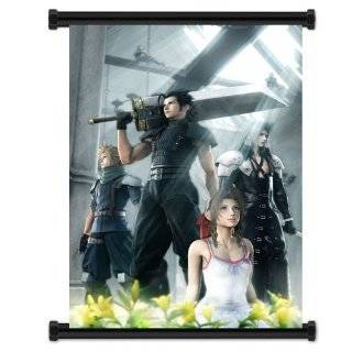 Final Fantasy VII Cloud Game Fabric Wall Scroll Poster (21x16