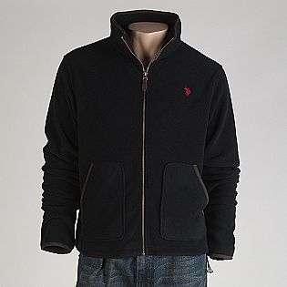 Mens Front Zip Polar Fleece Jacket  US Polo Assn. Clothing Mens