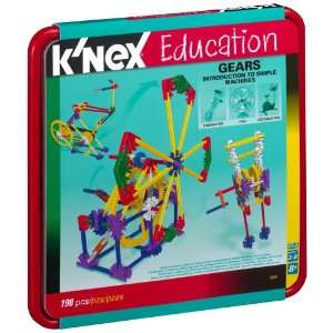 Nex Education Intro To Simple Machines   Gears   1 98 Pieces  Toys