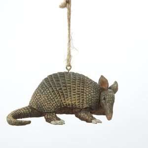 Club Pack of 12 Armadillo Christmas Ornaments 4