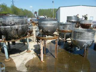 25 30 Gallon Stainless Steel Kettle w Jacket SEE PICS