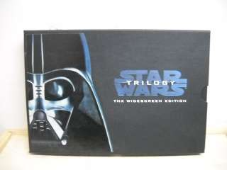 Star Wars Trilogy VHS Widescreen Set