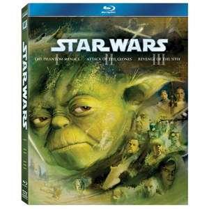 NEW Star Wars: Prequel Trilogy (Blu ray)