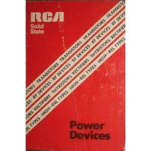 RCA Solid State Power Devices: RCA: Books