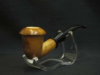 Pipe BURNT ART Tobacco Smoking Pipes Gift CASE Stand & Pouch