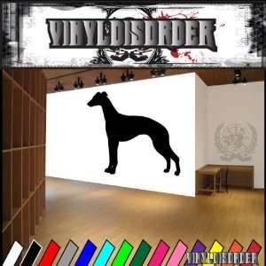 Dogs Hound Whippet 3 Vinyl Decal Wall Art Sticker Mural