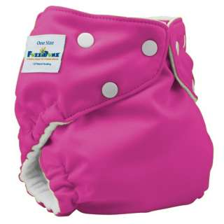 ONE SIZE ELITE Fuzzibunz Fuzzi Bunz OS Cloth Pocket Diaper & 2 Minky