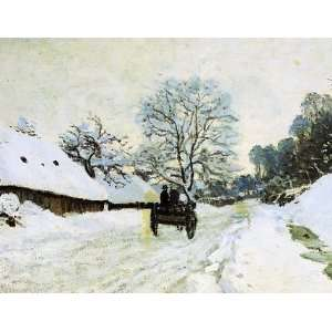 in Snow Claude Monet (Holiday Boxed Cards) (9780735317307) Books