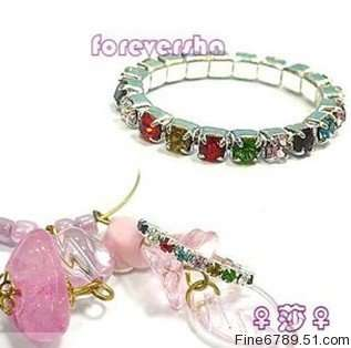 Wholesale 36Pcs Mixed Color Crystal Rhinestone Toe Ring