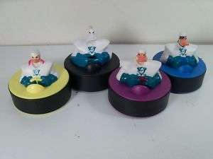 McDonalds Happy Meal Disney Mighty Ducks 4 Toy Set 1997