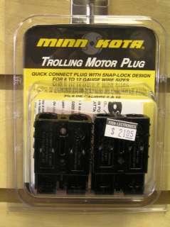 MINN KOTA MKR 20 TROLLING MOTOR PLUG 1865107 NEW 029402027132