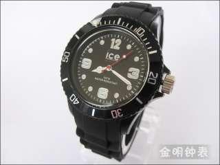 Silicone Unisex Rubber Sport ice watch fashion jelly watch WristWatch