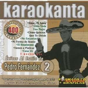 4400   Al Estilo de Pedro Fernandez   II Spanish CDG Various Music