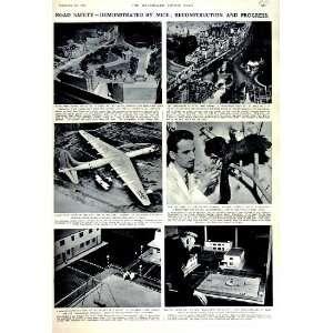 1951 HYDE PARK LONDON PLAN MODEL MICE BIPLANE MUSEUM Home & Kichen