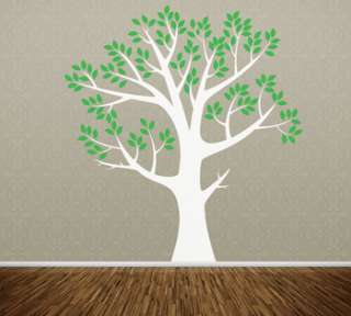 Wall Art Tree T9 ONE COLOR Vinyl Decor Decal Sticker Mural Decoration