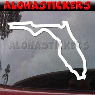 FLORIDA STATE Outline Vinyl Decal Window Sticker Q15