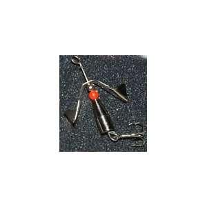 1/4 oz. Silver/Red Bead Original Inline Spinner Sports