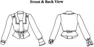 Folkwear Vintage WWI era Armistice BLOUSE Pattern S 3XL