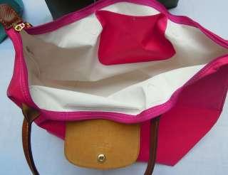 Longchamp NEW Le Pliage Tote Bag Handbag LONG Handle Large tote