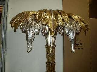 Palm Tree Decorative Unique Light Gold Silver NEW