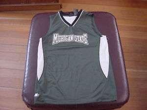 Michigan St. Spartans Youth Sz Lg Basketball Jersey