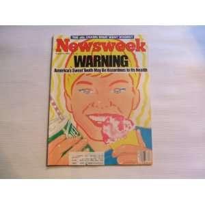 Newsweek August 26, 1985 Warning Americas Sweet Tooth May