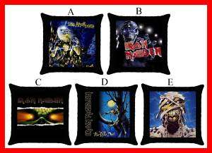 Iron Maiden Rock Band Hot Throw Pillow Case #Pick 1