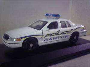 Custom Canton, Mississippi police car 1:43