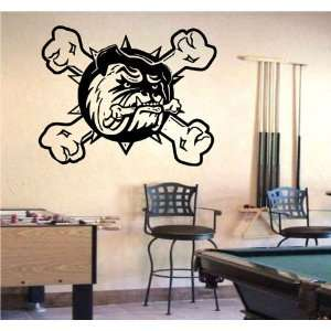 Wall Mural Vinyl Sticker Sports Logos Ahl hamilton Bulldogs (S1886