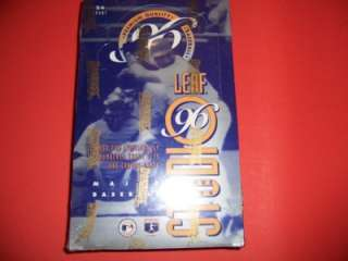 1996 LEAF STUDIO BASEBALL UNOPENED CARD BOX 24 PACKS
