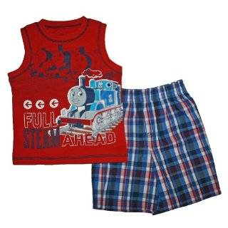 Thomas the Train Short & Shirt Set for Toddler Boys
