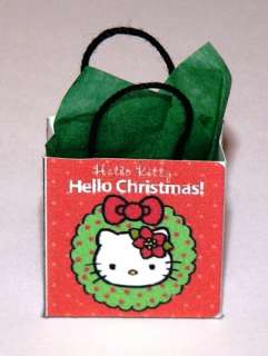 Miniature Hello Kitty Gift Bag Hello Christmas