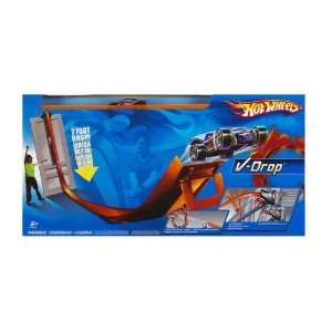 Hot Wheels V Drop Super Velocity Track Set Toys & Games