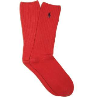 Accessories  Socks  Casual socks  Ribbed Cotton
