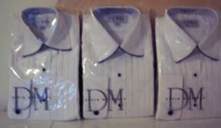 NEW BOYS Dress Shirt Lot of 3 One XSmall, One Med, One Large NWT