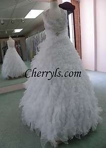 2012 PERFECT ANGELS 1421 White 10 GIRLS NATIONAL PAGEANT DRESS GOWN