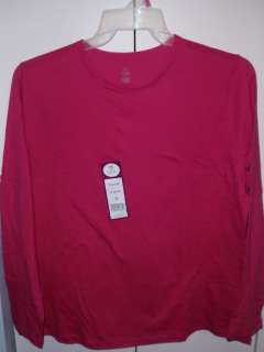 NEW Plus Size Womans Long Sleeve Cotton Tees Shirts > 1X 2X 3X