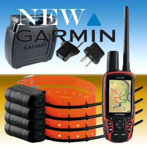 . COMBO GARMIN ASTRO 320 GPS + 4 x DOG TRACKING COLLARS DC40 + CASE