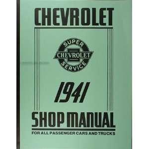 Chevrolet Repair Shop Manual Reprint Chevy Truck Car Pickup Chevrolet