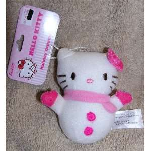 Sanrio Hello Kitty 4 Plush Christmas Ornament