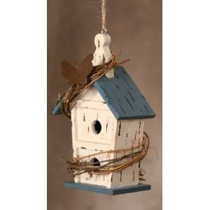 Beach Front Cottage Birdhouse ~ Vine, Butterfly Kitchen