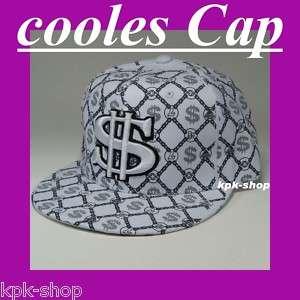 Cap *DOLLAR* Hip Hop Fullcap Gang Caps Basecap Fullcap