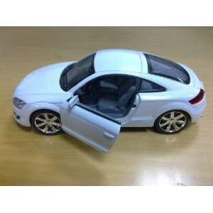 Uni Fortune 1:32 Audi TT 2008 Diecast Car in Color White
