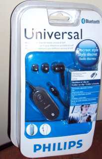 PHILIPS UNIVERSAL BLUETOOTH HANDFREE HEAD SET ADJUSTABLE & DETACHABLE