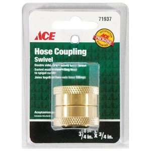 ACE GARDEN HOSE SWIVEL COUPLER, DOUBLE FEMALE 3/4 Home