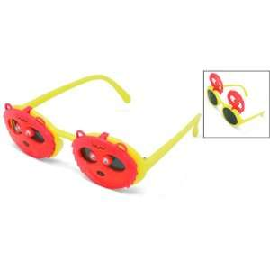 Como Cartoon Lion Style Kids Flip Up Sunglasses Eyewear