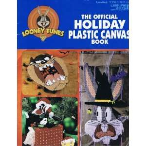 The Official Holiday Plastic Canvas Book Leaflet 1781: Warner