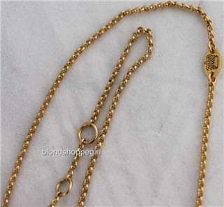 Couture CRYSTAL DICE CHARM Wish NECKLACE GOLD LUCKY JUICY JACKPOT Rare