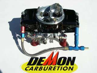 SPEED DEMON 650 BARRY GRANT POWDER COAT RED OR BLACK #6 FUEL LINE