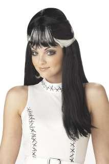 Frankenstein Bride Frankies Girl Adult Costume Wig